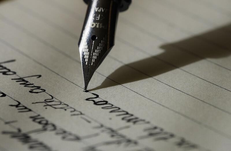 ストレス発散方法7:紙に不満を書きまくる