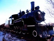 フラッグスタッフの機関車