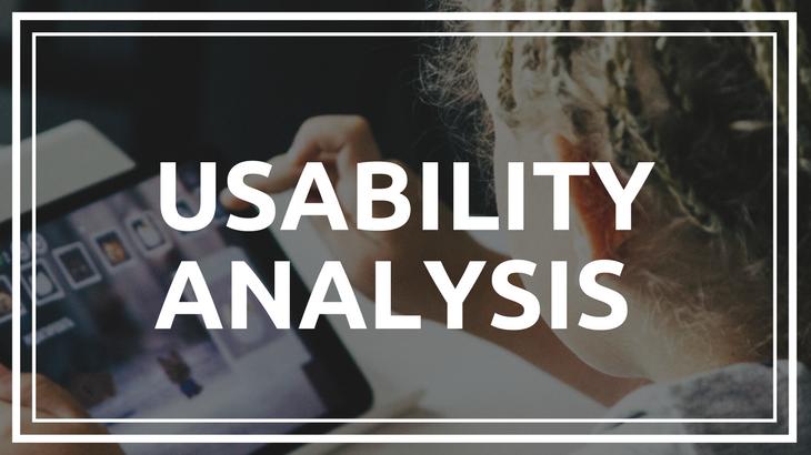 Usability analysis