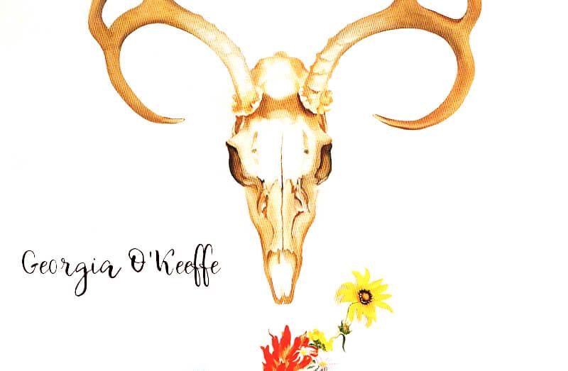 ジョージア・オキーフの世界観がカッコ良い。家や画集・ポスターを紹介